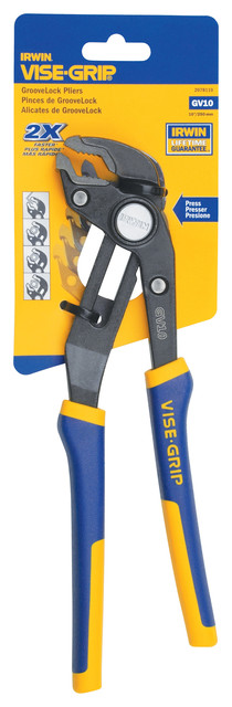 Irwin Tools 4935096 Vise-Grip Adjustable Groovelock Plier, 10.