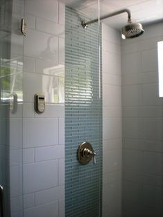 Mixing subway tile sizes and materials Cross posted