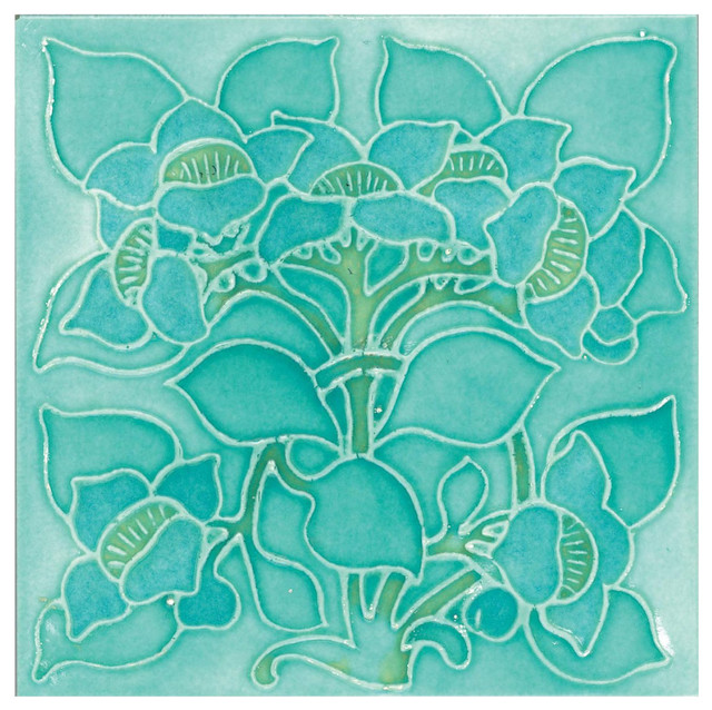 Decor Tile, Gloss Green, 1 m²