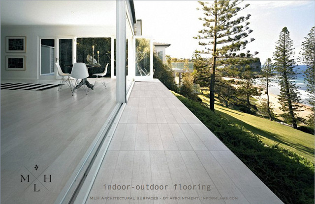 INDOOR-OUTDOOR PORCELAIN WOOD FLOORING - Los Angeles - by MLH ...