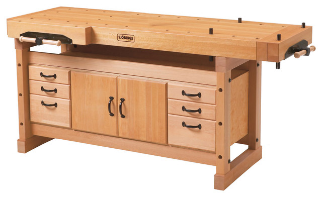 Elite Workbench 2000 and SM04 Cabinet Combo - Traditional - Garage And Tool Storage - by Bora Tool