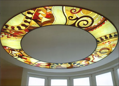 Stained Glass Ceiling Design