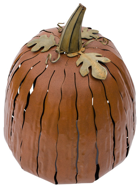 Pumpkin Luminary, Small. -1