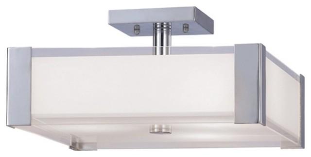 Canarm Metro 3-Light Flushmount, Chrome.