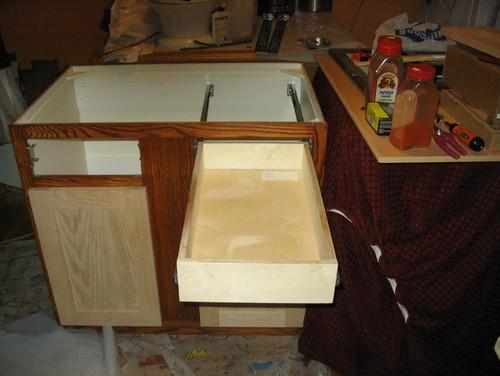 Installing side-mounted soft-close cabinet drawer slides
