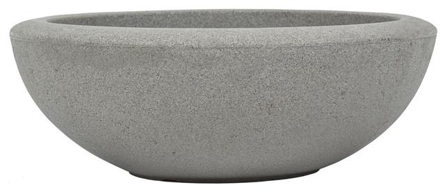 Resin Santorini Bowl Concrete 26