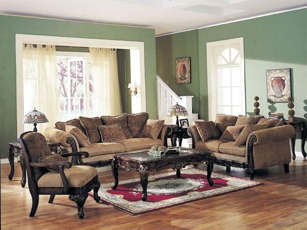 Acme Furniture - Bordeaux 3 Piece Sofa Set - 5600-3set