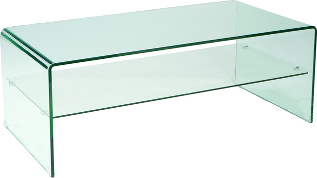 Sono Coffee Table Glass, Clear.