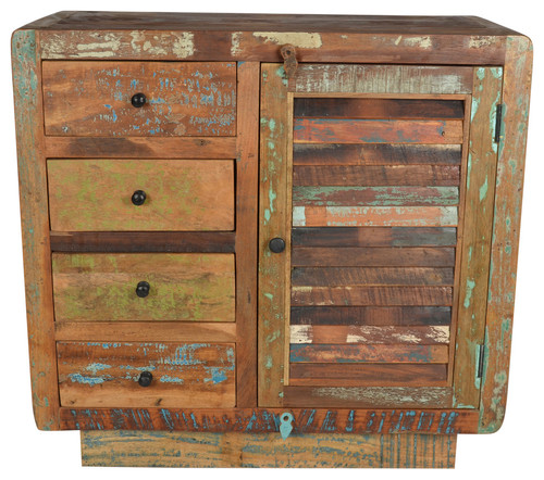Morell Four Drawer Cabinet