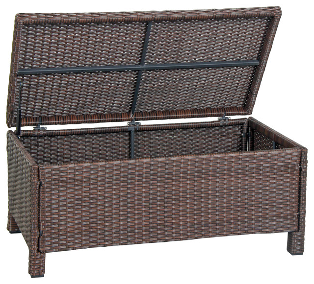 Cadiz Wicker Storage Box