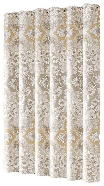 Classic Design Shower Curtain Waterproof 180x180Cm