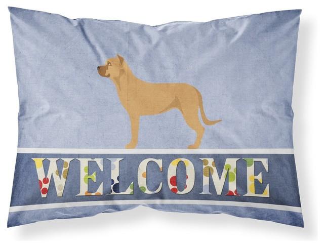 Pillowcase In Spanish Beauteous Alano Espanol Spanish Bulldog Fabric Standard Pillowcase