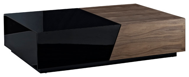 Motion Tail Table Walnut Veneer