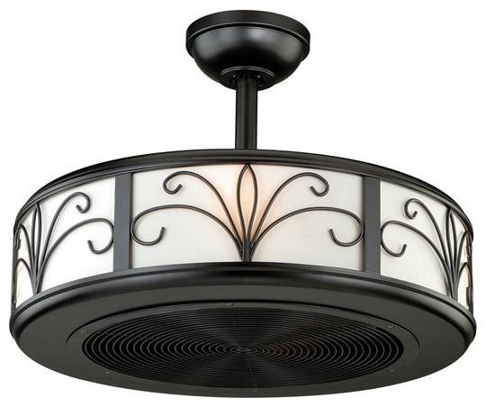 """Veranda 21"""" Ceiling Fan, New Bronze."""