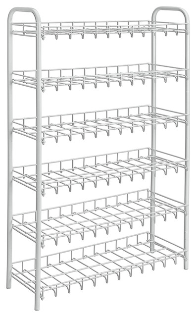 Patented Shoe Rack, 18-Pair. -1