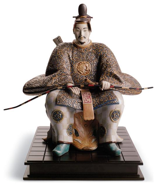 Lladro Porcelain Lladro Japanese Nobleman I Figurine