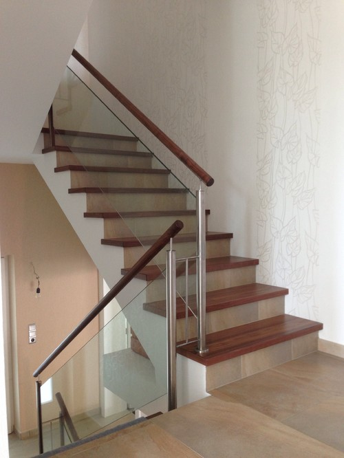 renovation escalier beton. Black Bedroom Furniture Sets. Home Design Ideas