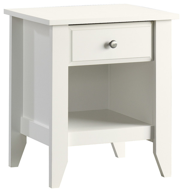 Shoal Creek Night Stand, Soft White.