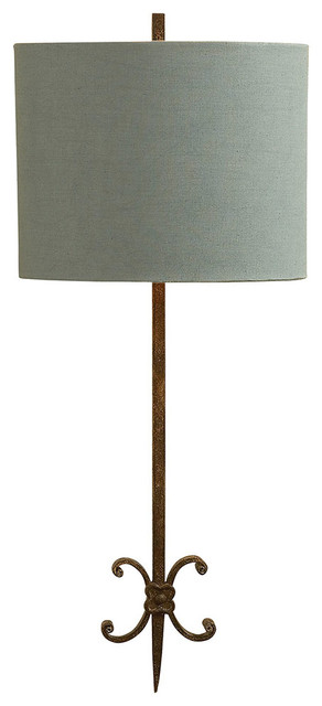 Suzanne Kasler Roswell Sconce, Natural Rust Iron