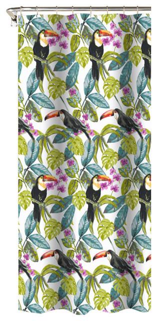 Tropical Toucans Print 100 Cotton