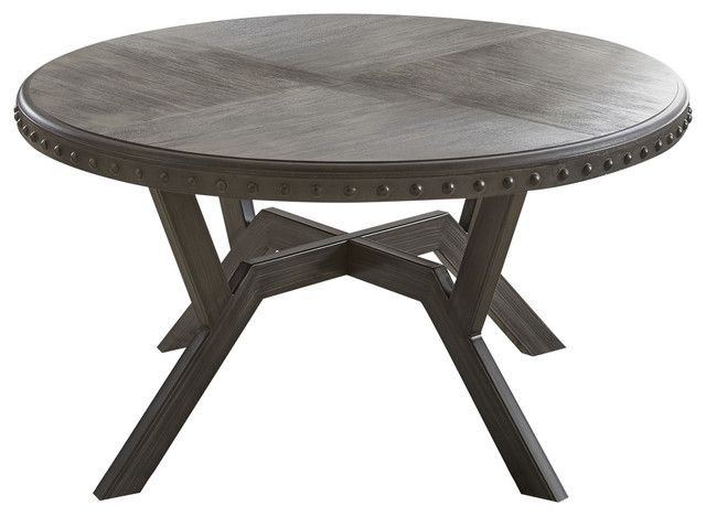 Alamo Round Cocktail Table Traditional Coffee Tables