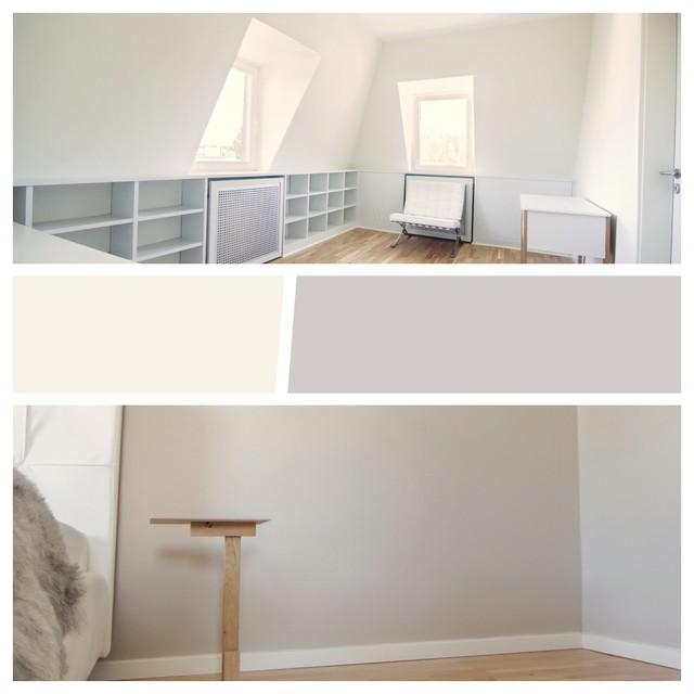 Farbkonzept Arbeitszimmer Und Schlafzimmer Scandinavian