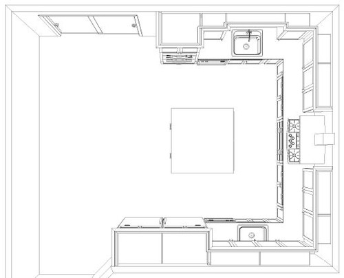 Need help with kitchen layout asap for Kosher kitchen design