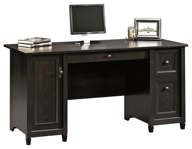 Edge Water Computer Desk, Estate Black.