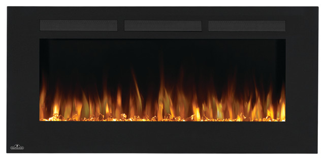 Napoleon 50 Nefl50fh Wall Hanging Electric Fireplace Contemporary Indoor Fireplaces By