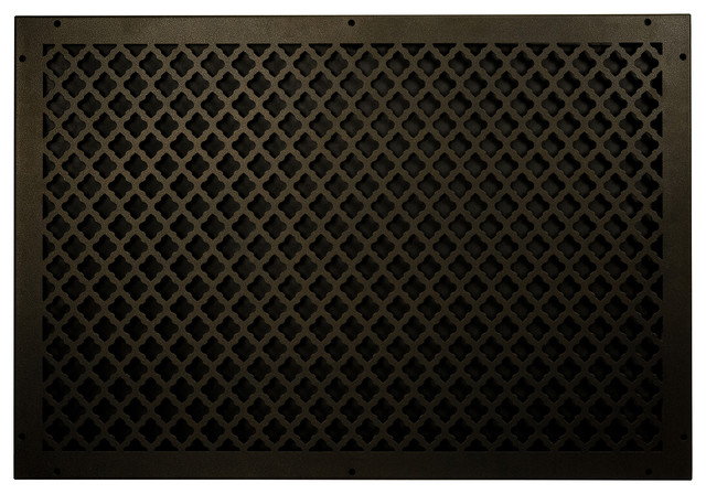 Steel Return Vent Cover, Oil-Rubbed Bronze, Fits Duct Opening 30x20.