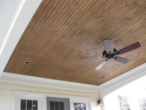 What Color Should I Stain Tongue And Groove Porch Ceiling