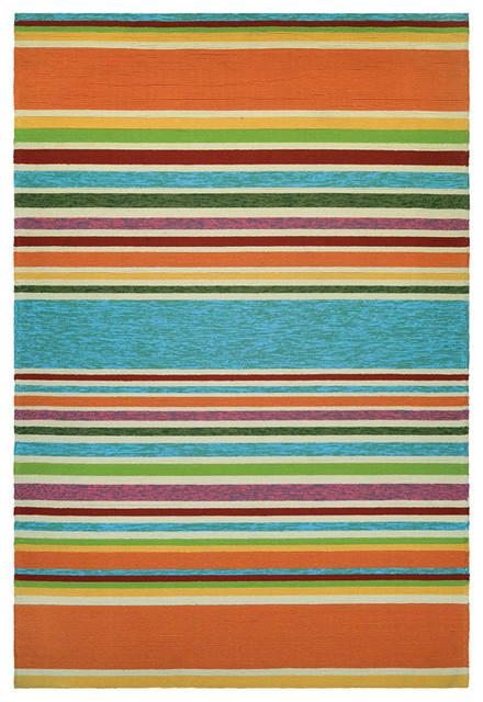 "Covington Sherbet Stripe 2296/3067, Multi, 7'10""x7'10"""