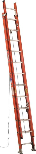 Werner Type Ia Pro Grade Fiberglass Extension Ladder, 24&x27;