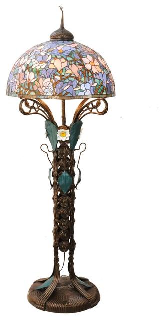 3 Light Standard Bulb Floor Lamp.