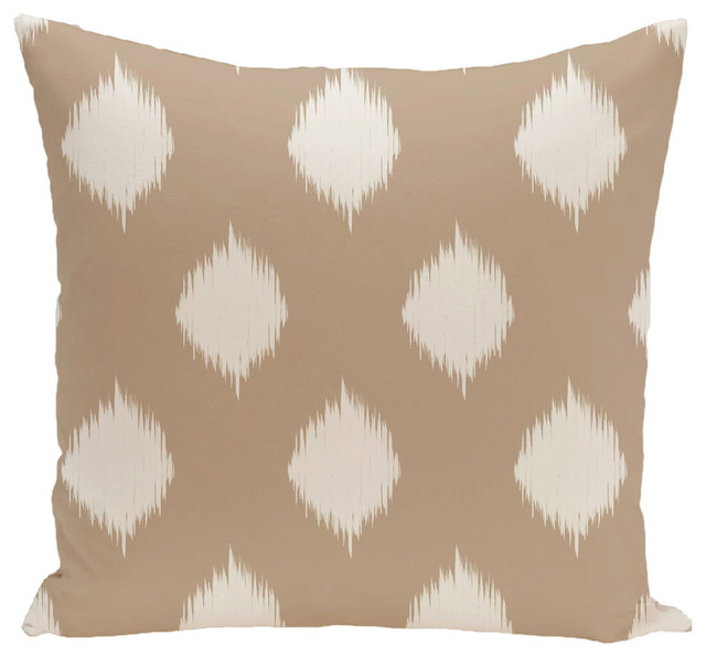 Shop Houzz E by Design Geometric Decorative Floor Pillow - Floor Pillows And Poufs