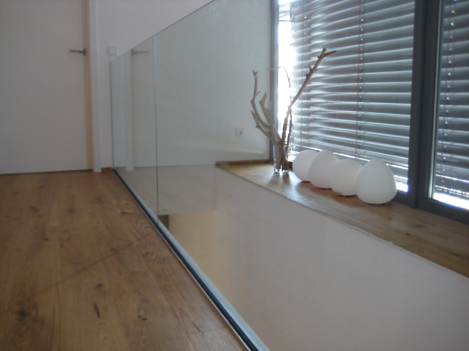 Galerie I Glasbrüstung