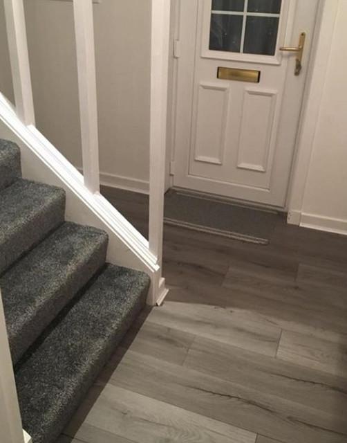 Loft Dark Grey Laminate Flooring, Dark Grey Laminate Flooring