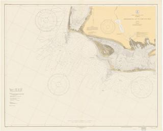 Apalachicola Bay to Cape San Blas Florida Historical Map 1934 - Contemporary - Prints And ...
