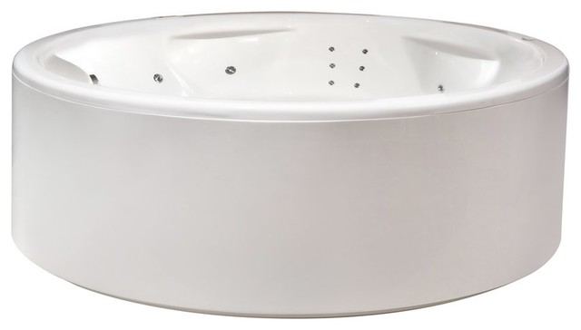 Aquatica Allegra Freestanding HydroRelax Pro Jetted Bathtub (110V/60Hz)