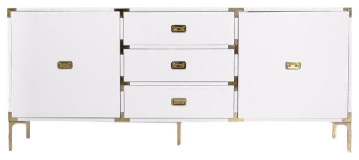 Jet Setter Credenza Contemporary Buffets And Sideboards By Modshop Houzz