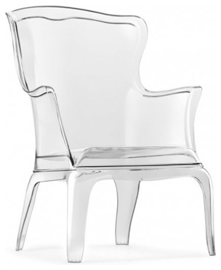 Ghost Wing Back Chair Armchairs And Accent Chairs By
