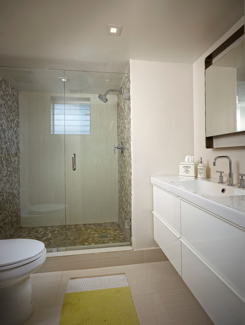 Lake house contemporary bathroom miami by rs3 designs for Lake house bathroom ideas
