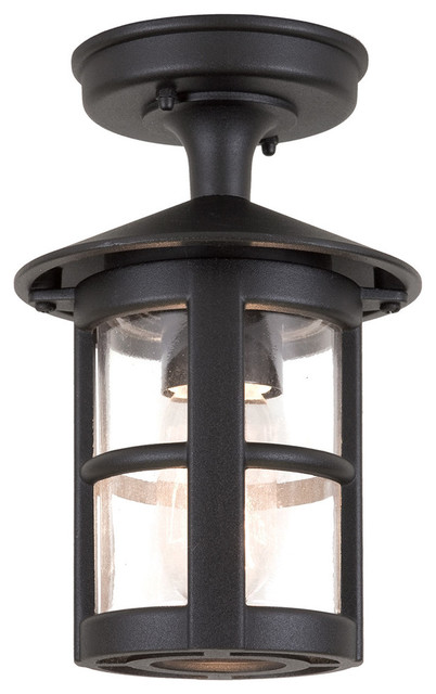 Traditional Large Tube Exterior Porch Ceiling Lantern