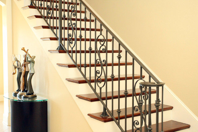French Country Traditional Staircase New Orleans