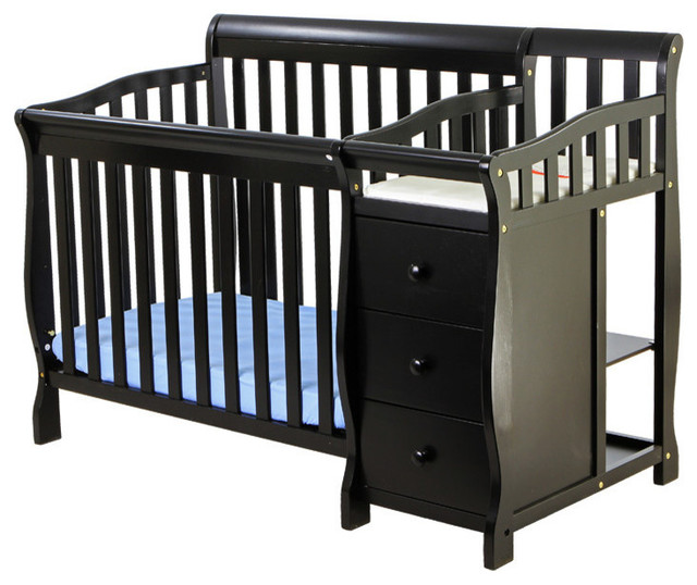 Dream on me jayden 4 in 1 mini convertible crib and Baby crib with changing table