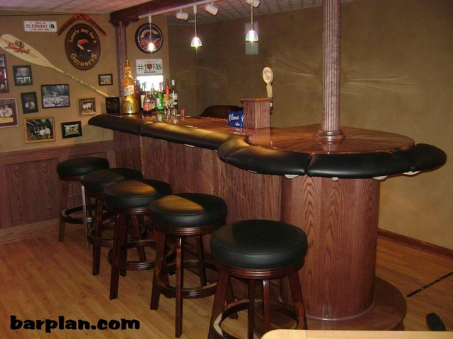 Easy Home Bar Plans - Home Bar samples. - Traditional - Chicago - by ...