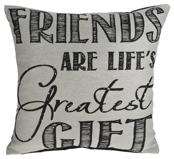 Friends Are Life's Greatest Gift, Throw Pillow by