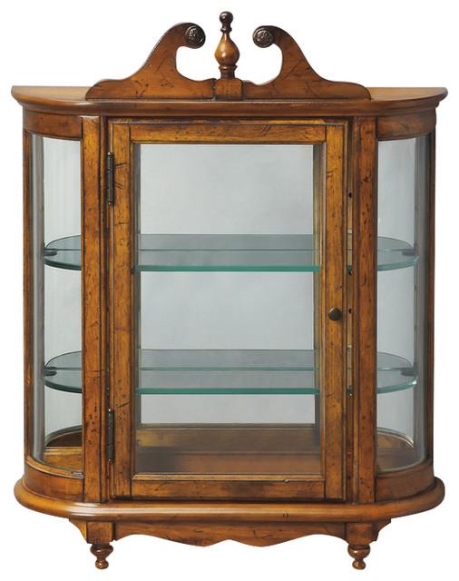 Butler Specialty Company Melinda Wall Curio Cabinet ...
