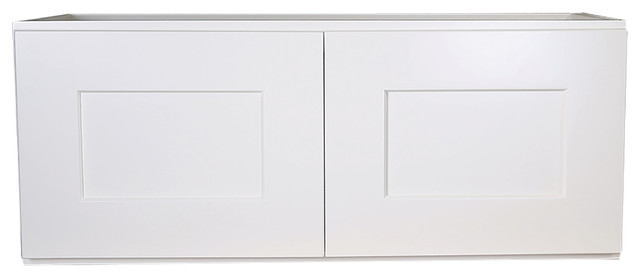 "Design House 562215 Brookings 30"" Corner Wall Cabinet, Espresso Shaker, White, 3."