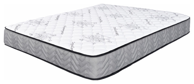 "Spectra Orthopedic Mattress Elements 9.5"" Medium Firm Quilted-Top Mattress, Full."